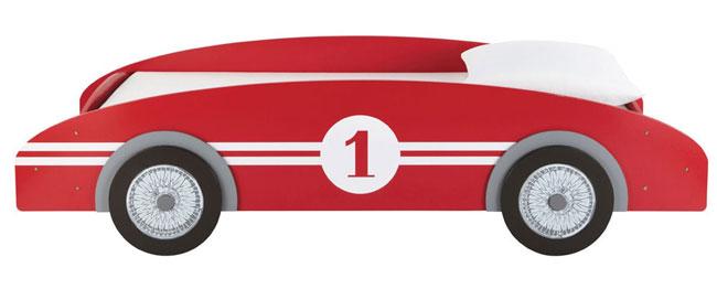 Circuit classic racing car bed at Maisons Du Monde