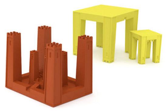 Castable Children's desk by Ambroise Maggiar for TOG