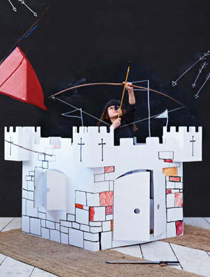 Make Your Own Cardboard Castle