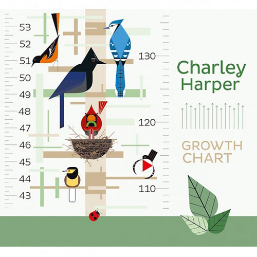 Charley Harper Growth Chart at Hus & Hem