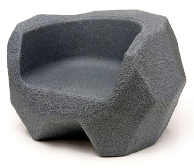 Magis Piedras Small Seat by Javier Mariscal