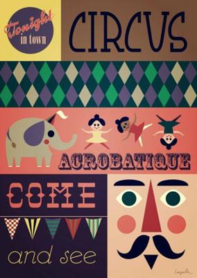 Ingela Arrhenius Acrobatique Poster