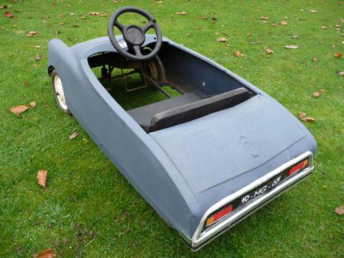 Vintage Citroen DS pedal car