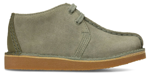 Mini Me: Clarks Originals for kids return to the shelves