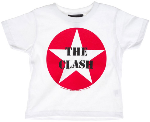 The Clash Star Logo kids t-shirt
