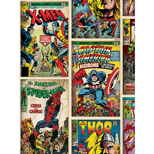 Marvel Action Heroes Wallpaper by Graham & Brown