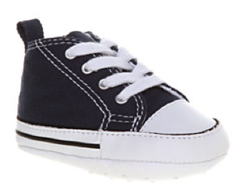 Converse First Star hi-tops for babies