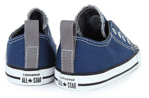 Converse slip-on canvas trainers for kids