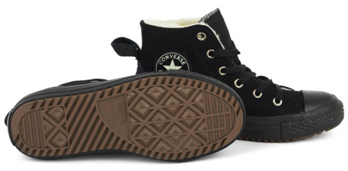 Converse Fleece Lined Hi-Tops