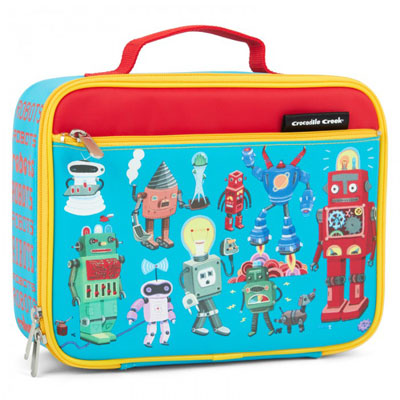 Crocodile Creek Robots Lunch Box