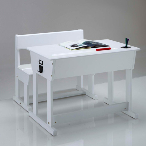 Toudou vintage-style school desk and chair at La Redoute