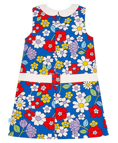 Retro kids: Little Bird by Jools floral dress at Mothercare