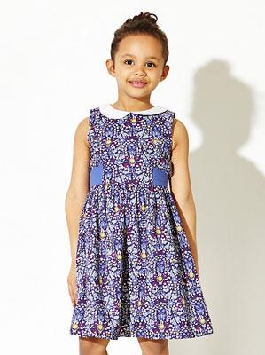 1960s-style John Lewis Girl Daisychain Print Dress