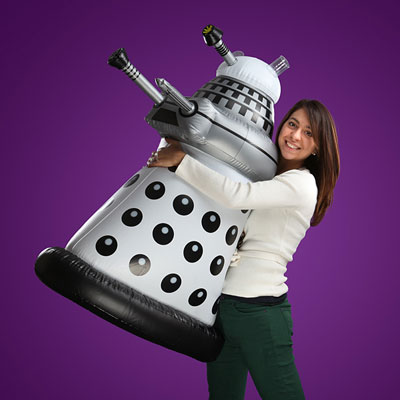 Inflatable Dr Who Dalek