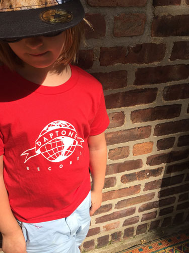 Daptone Records t-shirt for kids