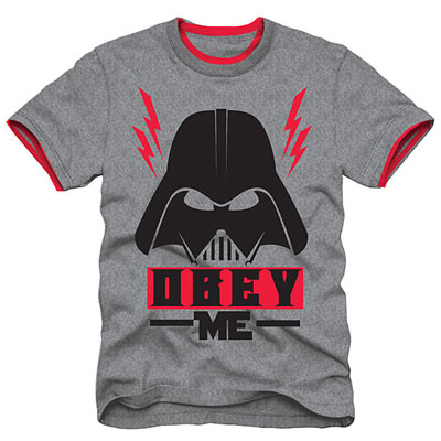 Darth Vader Obey Me t-shirt for kids