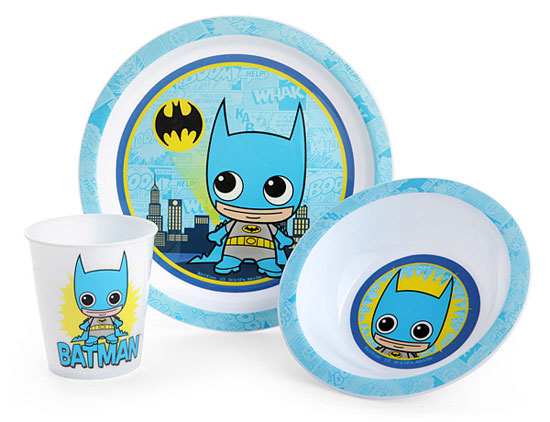 DC Comic Dinnerware Sets at ThinkGeek