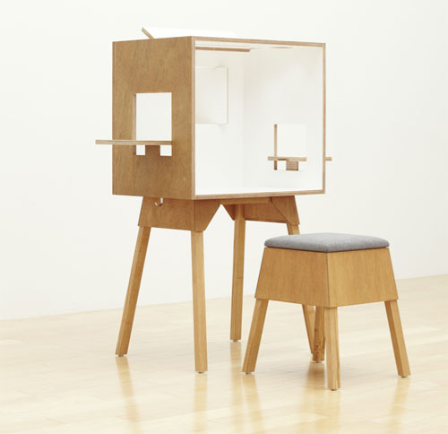Koloro Desk by Torafu Architects for Ichiro
