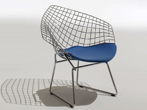Knoll Child's Diamond Armchair by Harry Bertoia