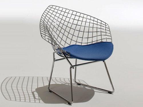Knoll Child's Diamond Armchair by Harry Bertoia