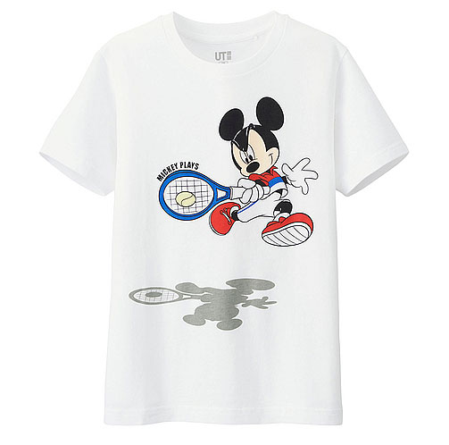 Uniqlo x Disney Mickey Plays t-shirts