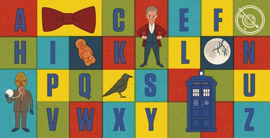 Doctor Who: T is for TARDIS alphabet book for kids