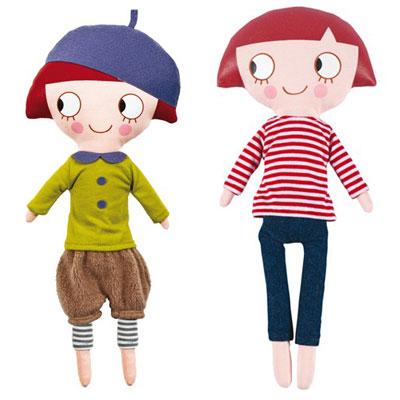 Parisian dolls by Trousselier