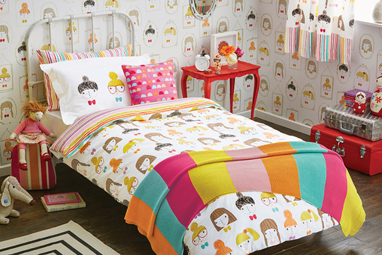 Hello Dolly duvet set by Scion