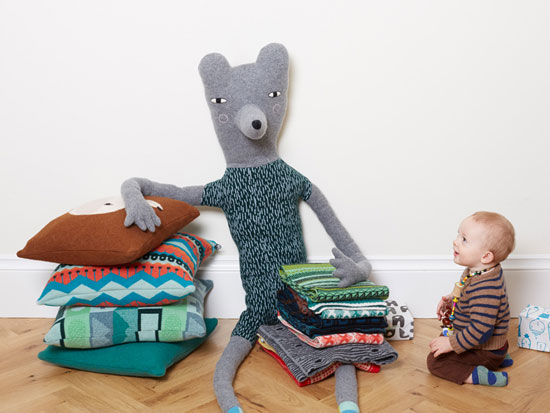 Bag a new big buddy! Giant Creatures by Donna Wilson