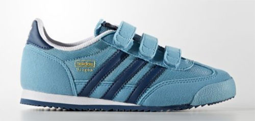 1970s Adidas Dragon trainers reissued for kids