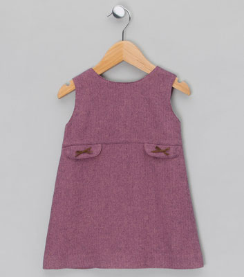 Vintage-style pinafore dresses by Mariella Ferrari
