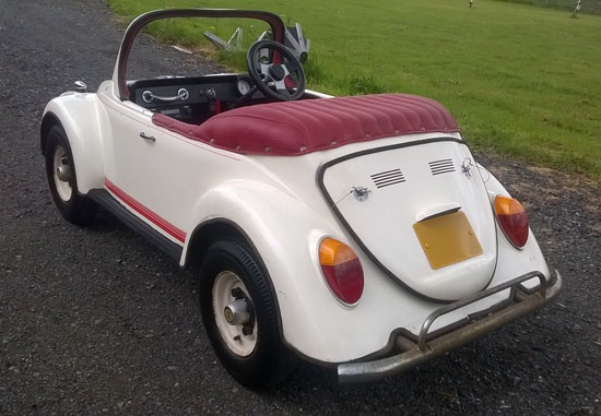 eBay watch: Child's vintage Volkswagen Beetle convertible ...