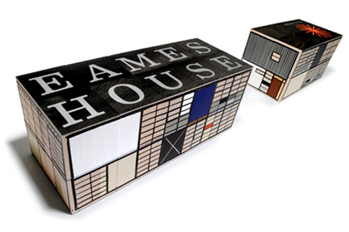 Eames House Alphabet Blocks