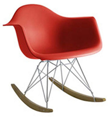 Eames-style rocking chair for kids