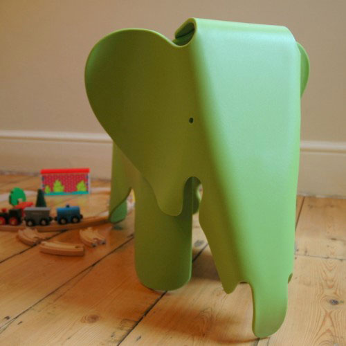 Eames-style Elephant Seat at Great Little Rooms