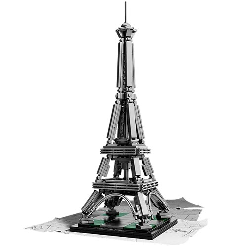 The Eiffel Tower is the latest Lego Architecture set