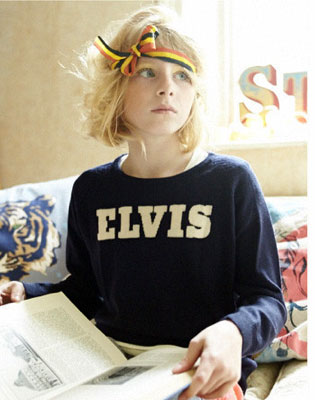 Elvis sweater for kids by Dandy Star