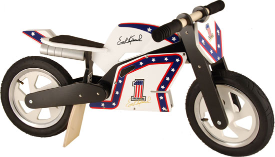 Official Evel Knievel Kiddimoto balance bike