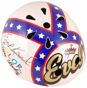 Official Evel Knievel Kiddimoto helmet