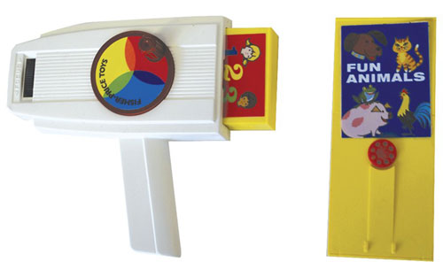 1970s Fisher Price Movie Viewer returns
