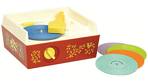 1970s Fisher Price Music Box record player