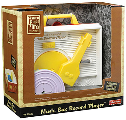 1970s Fisher Price Music Box record player
