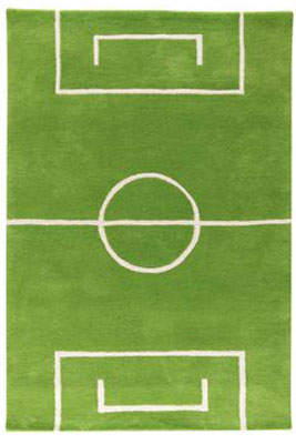 Football Carpet by Kateha