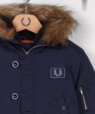 Fred Perry Snorkel Parka for kids