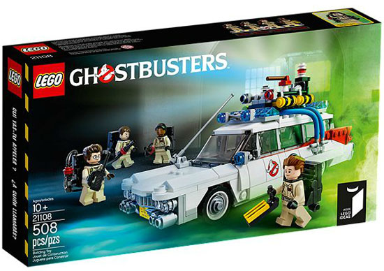 Lego Ghostbusters Ecto-1 30th Anniversary Set now available to buy