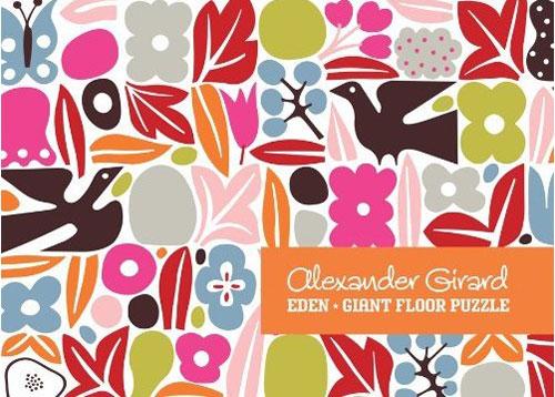 Alexander Girard Giant Eden Floor Puzzle