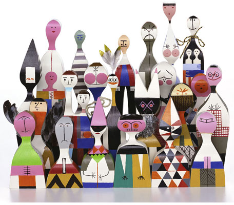 Vitra Doll Range by Alexander Girard