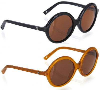 1960s-style Zoobug round sunglasses