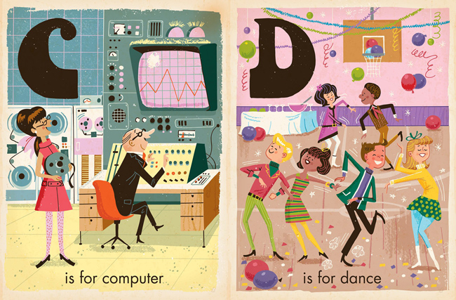 Retro kids: Vintage-style board books by Greg Paprocki