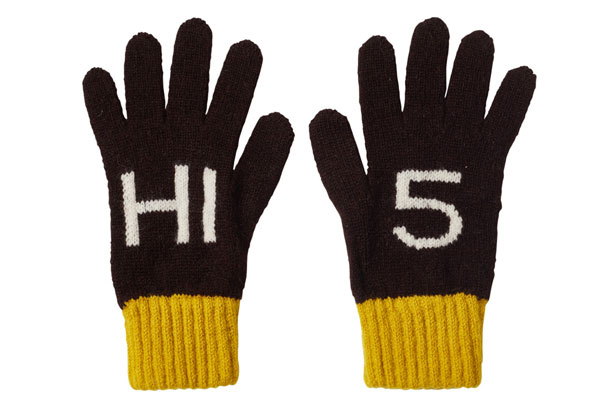 Kids Hi5 Gloves by Donna Wilson